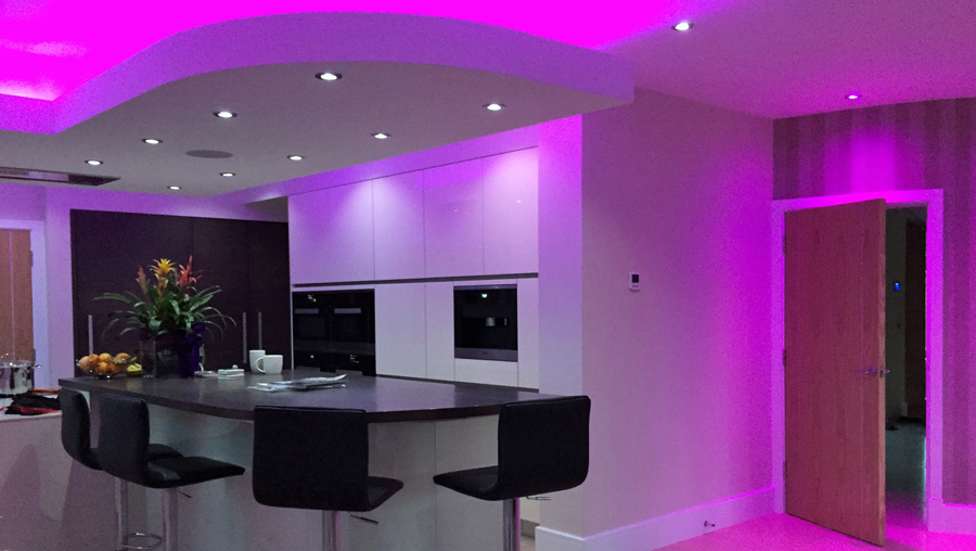 kitchen mood lighting rb vision in today s busy world an automated smart home 2320